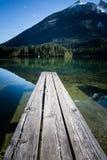 Мола на озере на Bavarias Berchtesgaden Стоковые Изображения