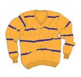 Мода носки зимы - вскользь свитер Handmade Стоковые Изображения RF