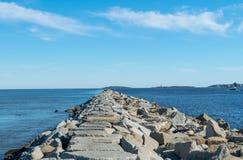 Мола океана стоковое изображение rf