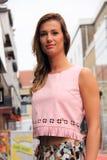 Мода стиля улицы взгляда лета Стоковое Фото