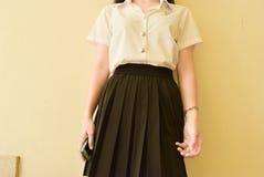 Мода студента университета Стоковые Фото