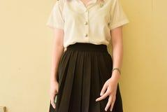 Мода студента университета Стоковые Изображения