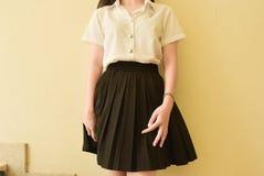 Мода студента университета Стоковая Фотография