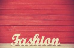 Мода слова Стоковые Изображения
