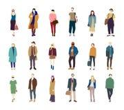 Мода улицы бесплатная иллюстрация