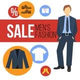 Мода людей одевает продажу Стоковое Изображение