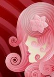 мода face2 Иллюстрация штока