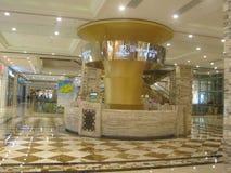 Мол в центре нового столетия глобальном в Чэнду, Китае Стоковое фото RF