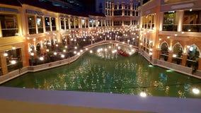 Мол грандиозного канала аркады Венеции Стоковое Изображение