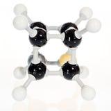 Молекула химии атома Cubane Стоковые Изображения