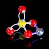 Молекула CuO4S сделанная из шариков и штаног Стоковая Фотография RF