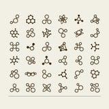 молекулы Стоковое фото RF