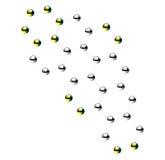 Молекулы vector изолированный значок иллюстрации Иллюстрация вектора