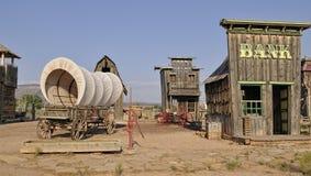 модельный городок поселенцев Стоковое Фото