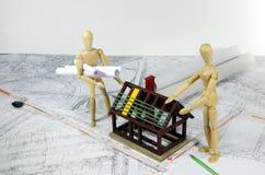 Модель дома Стоковая Фотография RF