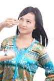 Модернизация состава женщины Стоковая Фотография RF