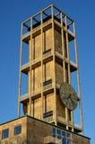 Здание здание муниципалитета и башня, Орхус, Дания Стоковая Фотография
