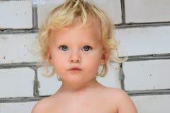 моделирование маленького ребенка Стоковые Изображения RF