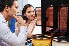 Модели печатания Стоковое фото RF