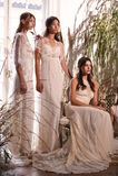 Модели представляя во время Claire Pettibone витрину собрания 4 сезонов Стоковое Фото