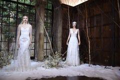 Модели представляя во время Claire Pettibone витрину собрания 4 сезонов Стоковая Фотография RF