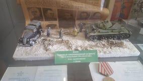 Модели танка Стоковое Изображение