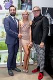Модельер Rocco Barocco на день открытия первого магазина mono-бренда в России Стоковые Изображения RF