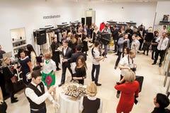 Модельер Rocco Barocco на день открытия первого магазина mono-бренда в России Стоковое Изображение