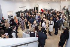 Модельер Rocco Barocco на день открытия первого магазина mono-бренда в России Стоковое Фото