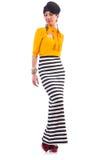 Модельная нося модная одежда Стоковое фото RF