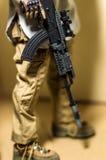Модельное ak 47 Стоковые Фотографии RF