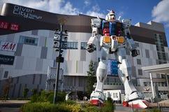 Модельное gundum на Odaiba Японии Стоковые Изображения