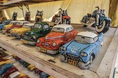 Модельные автомобили кубинськие Стоковая Фотография