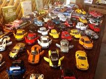 Модельные автомобили Стоковая Фотография