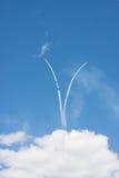 Модельные представления самолетов Стоковое Фото