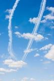 Модельные представления самолетов Стоковые Изображения