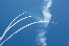 Модельные представления самолетов Стоковая Фотография