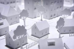 Модельный город Стоковая Фотография RF