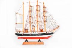 модельный корабль стоковое изображение rf