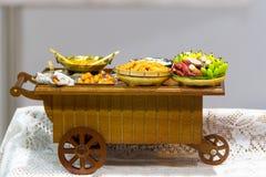 Модельный магазин масленицы тележки продовольственного магазина, Стоковое Изображение