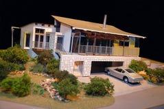 Модельный дом Стоковое Изображение RF