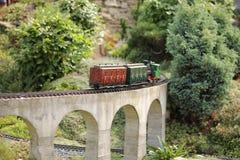 модельный поезд Стоковые Изображения RF