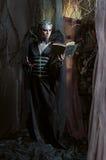 Модельный человек в костюме фантазии Стоковые Изображения RF