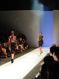 Модельный showcasing конструирует от Erdem на фестивале 2011 моды Audi Стоковое Изображение RF