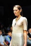 Модельный showcasing конструирует от Swarovski на фестивале 2011 моды Audi Стоковые Фото