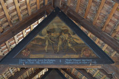молельня luzern моста Стоковая Фотография