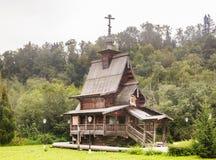 Молельня St Sergius Radonezh Ключ Gremyachiy падений Стоковое Фото