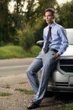 Модель автомобиля моды следующего стоковые фото