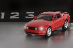 Модель автомобиля спорт Стоковое фото RF