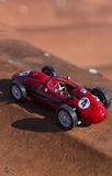 Модель винтажного автомобиля Формула-1 Стоковые Фотографии RF